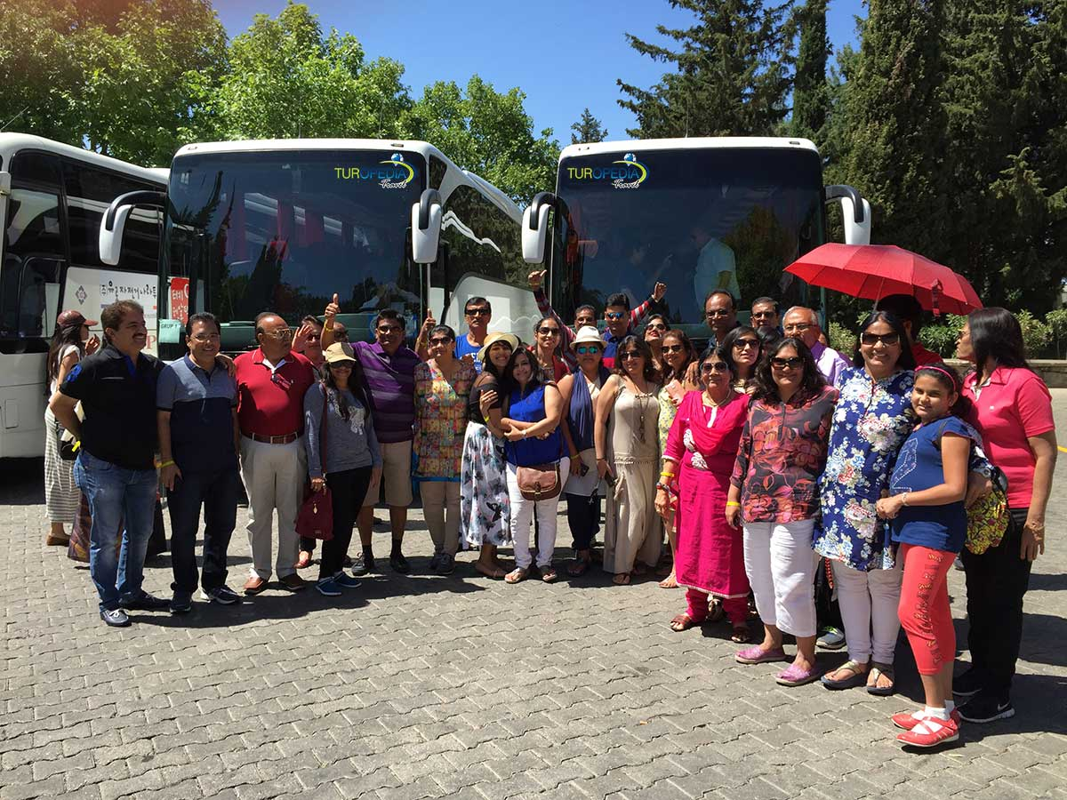 Selected moments of familiarization tour in Turkey.